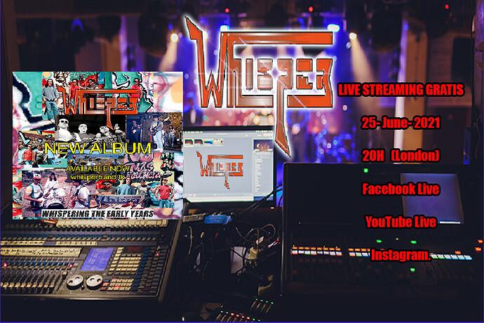 WHISPER streaming VI-2021