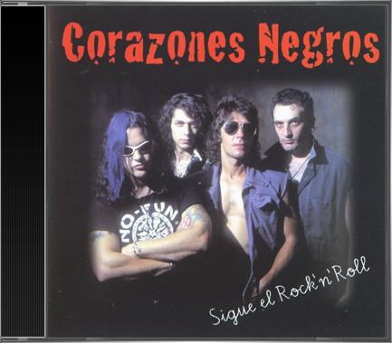 Corazones Negros - Sigue el Rock 'N' Roll (1997) cd