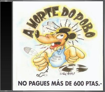 A Morte Do Pobo - A Morte Do Pobo (1992) cd